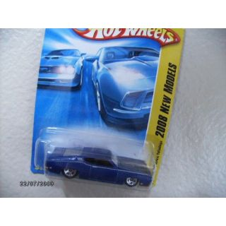 Hot Wheels 69 Ford Torino Talladega 2008 New Model,dark Blue