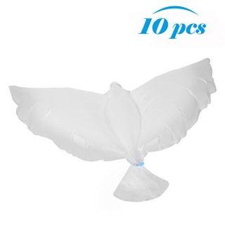 Dove Balloons, 10PCS White Helium Balloons Dove Balloons Wedding Balloons Biodegradable For Ceremony Birthday Anniversar