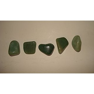 (#17) 5pc Fuchsite Free-form Medium A-Grade 100% Natural Healing Crystal Gemstone Tumbled & Polished Stone