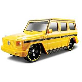 1:24 Maisto Mercedes G Wagen Yellow Remote Control Car