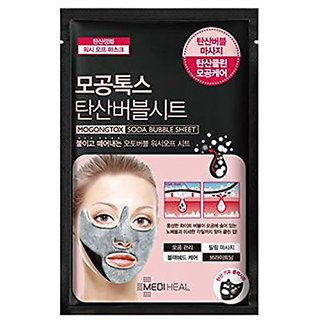Mediheal Pore Soda Bubble Mask Sheet 10pce