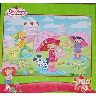 Strawberry Shortcake Rain Showers 100 Piece Puzzle