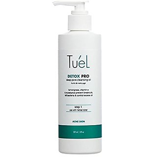 Tuel Skincare Detox Cleansing Oil, 8 Ounce