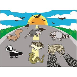 Roadkill Animals Chunky Puzzle (sad version)