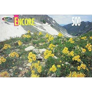 Encore 500 Piece Puzzle Maroon Snowmass Wilderness Colorado #06052