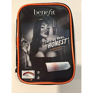 Benefit Makeup Travel Bag Theyre Real Honest Catalog Cover 7 X 4.5 X 2
