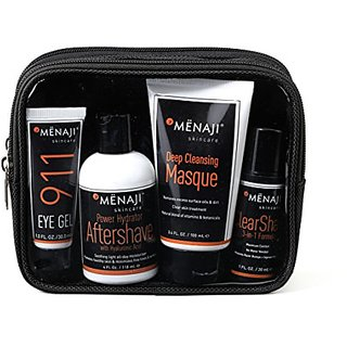 Mnaji David Expandable Dopp Kit Skincare Set, 16 oz.