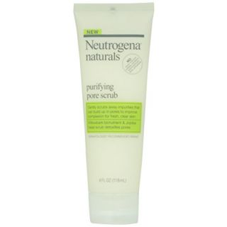 Neutrogena, Naturals Purifying Daily Scrub, 4 fl oz