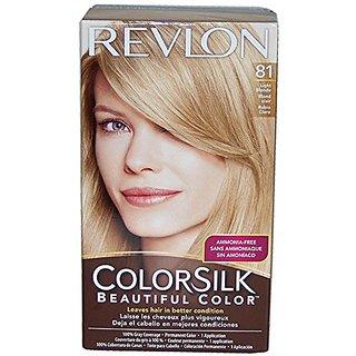 Revlon Colorsilk Beautiful Color, Light Blonde 81
