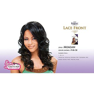 MEAGAN - Shake N Go FreeTress Equal Synthetic Hair Lace Front Wig #1B