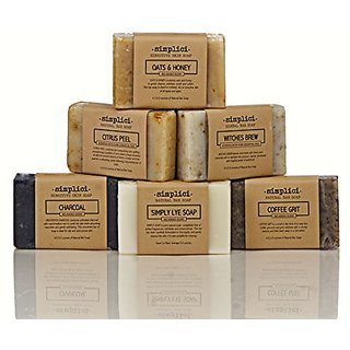 SIMPLICI Natural Soap (6 Bar) Value Pack