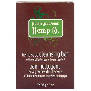 North American Hemp Co. Hemp Seed Cleansing bar, 3 Ounce Bar