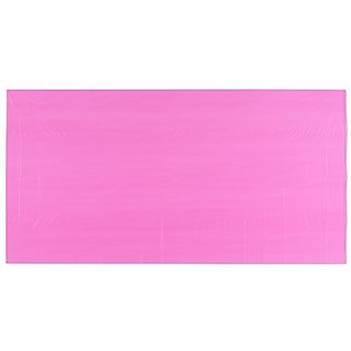 American Greetings Plastic Table Cover, Bright Pink, 54