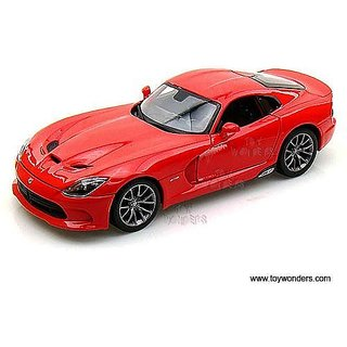 31128r Maisto - Dodge Srt Viper Gts Hard Top (2013, 1:18, Red) 31128 Diecast Car Model Auto Vehicle Die Cast Metal Iron