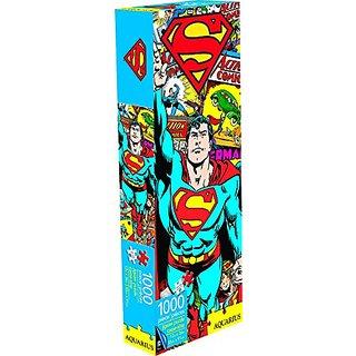 Aquarius Superman Retro Slim Puzzle (1000 Piece)