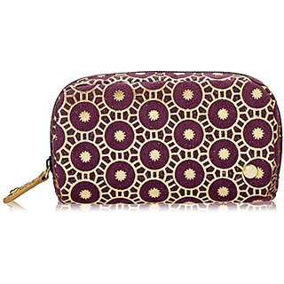 Stephanie Johnson Mini Cosmetic Pouch, Bollywood Purple