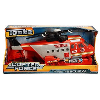 Tonka Copter Force Fire Rescue Helicopter