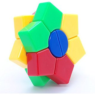 DianSheng Magic Dart Stickerless 2 Layers Square-1 Shape Mod Puzzle Cube
