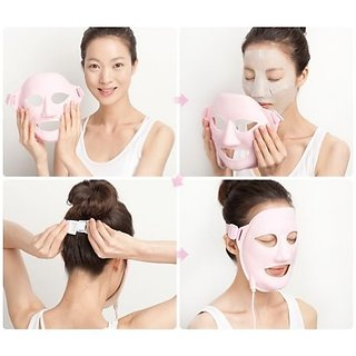 Beauty Face Auto 3D Vibration Acupressure Massage Facial Mask V-Liner Anti Aging Wrinkle Home Skin Care Device