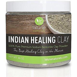 Bentonite Clay, Aztec Indian Healing Clay 16 Oz, 10 Recipe eBook Included