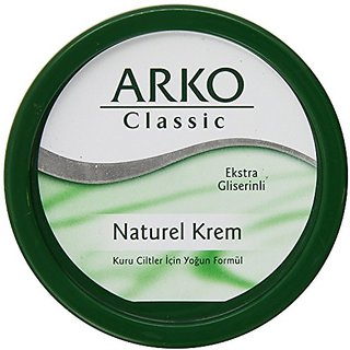 Arko Classic Natural Cream, 150 Gram
