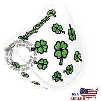 Lucky Clover MALLET Putter Cover Headcover For Scotty Cameron Taylormade Odyssey 2ball