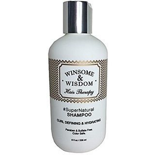 #SuperNatural 8 oz Moisturizing Shampoo For Natural Colored Hair Curly Color Treated Dry Scalp Women Men Kids Paraben Su