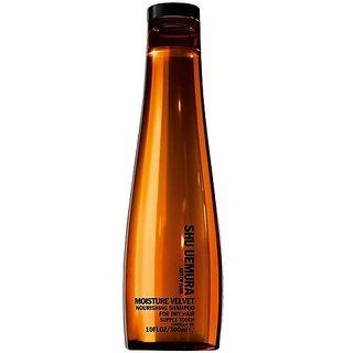 Shu Uemura Moisture Velvet Nourishing Shampoo Unisex, 10 Ounce