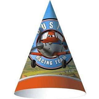 Disney Planes Cone Hats (8) by Hallmark