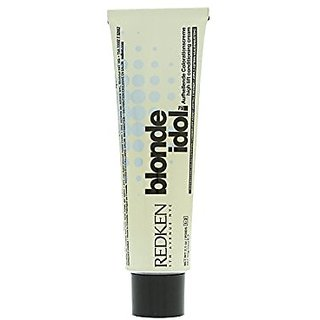 Redken Blonde Idol High Lift Conditioning Cream Base, 5-7B/Blue, 2.1 Ounce