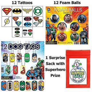 Sensational Superhero Party Favor Pack
