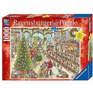 Ravensburger Santas Ready Puzzle (1000 Piece)
