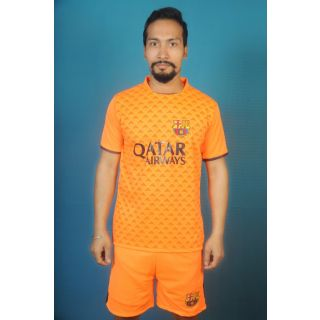 Ornge color football club Jersey ( real )