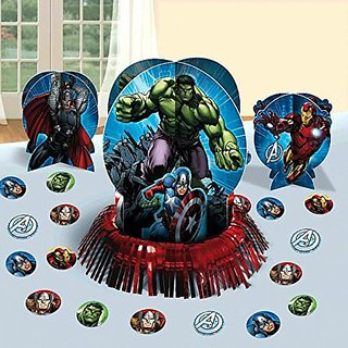 Disney Avengers Party Table Decorations Kit ( Centerpiece Kit ) 23 PCS - Kids Birthday and Party Supplies Decoration