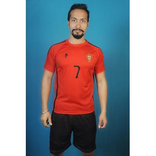 Red portugal jersey only upper
