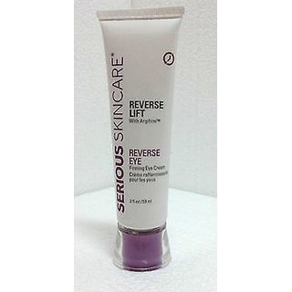 Serious Skincare Reverse Lift Firming EYE Cream 2 oz Super Size~ 4X Normal Size