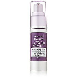 Avalon Organics Wrinkle Therapy Facial Serum, 0.55 Fluid Ounce