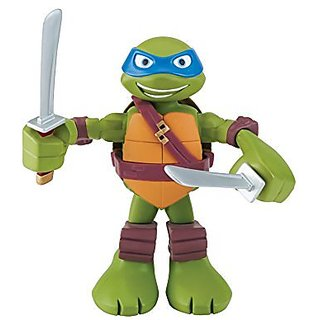 Teenage Mutant Ninja Turtles Pre-cool Half Shell Heroes 6 Inch Leonardo Mechanical Action Figure