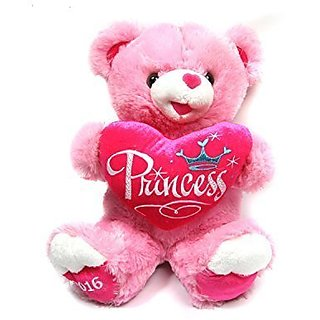 Clearance! MULTIGOOD 2016 Princess Teddy Bear Stuffed Animal Plush Bear Ideal gift Perfect gifts for gril friends, 15