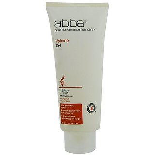 Abba Pure Volume Gel, 6.76-Ounce