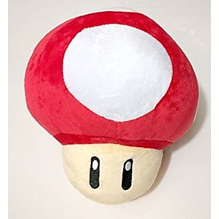 Super Mario Brothers Red Mushroom 8-inch Plush
