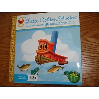 Scuffy the Tugboat 40 Piece Preschool Puzzle