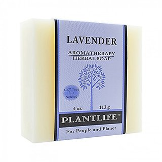 Lavender 100% Pure & Natural Aromatherapy Herbal Soap- 4 oz (113g)