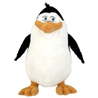 The Penguins of Madagascar 10 inch Plush Rico Hooga Loo Favorite Characters