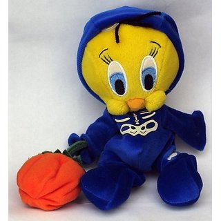 Tweety Bird in Skeleton Halloween Costume Plush