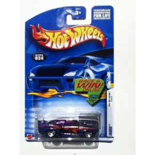 Hot Wheels Jaded 2002 First Editions #034 22 of 42 Race and Win Online Variant Card