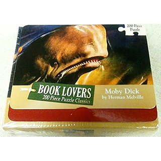 Book Lovers 200 Piece Puzzle Classics Moby Dick By Herman Melville