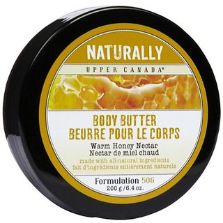 Upper Canada Soap Naturally Body Butter-Warm Honey Nectar-6.4, oz.