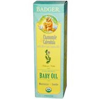 Badger Baby Oil - 4 oz with pump top