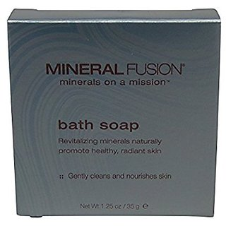 Mineral Fusion Bath Soap Lot of 20 Each 1.25oz Bars Total of 25oz